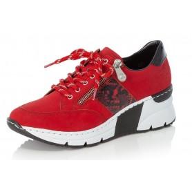 Rieker N6322-33 - Rieker Sneaker Rot