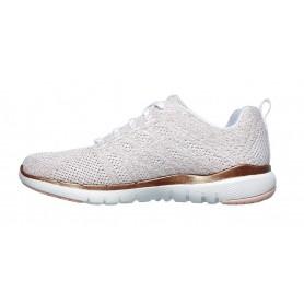 Skechers 13078-WTRG - Sneaker (weiss)