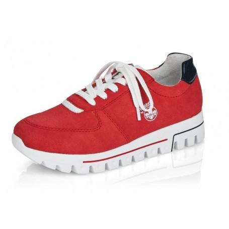 Rieker L2838-33 - Sneaker (rot)