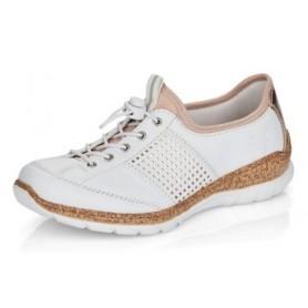 Rieker N42G8-80 - Rieker Sneaker Weiß