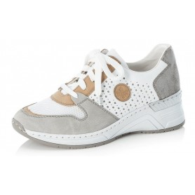 Rieker N4308-40 - Sneaker (weiss)