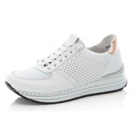 Rieker N6926-81 - Rieker Sneaker Weiß