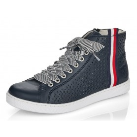 Rieker Z1228-14 - Sneaker (blau)
