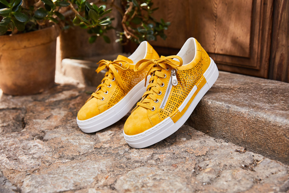 Rieker Sneaker Gelb